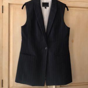 Banana Republic sleeveless jacket vest-size 4-NWOT
